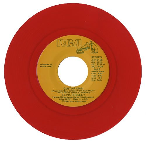 Elvis+Presley+Guitar+Man+-+Red+Vinyl+476225