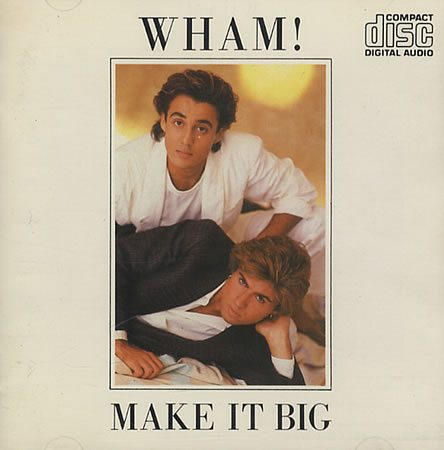 Make It Big Rare original 1984 Japanese-pressed but UK issue 8-track CD album [no pressings plants were in the UK at the time!]