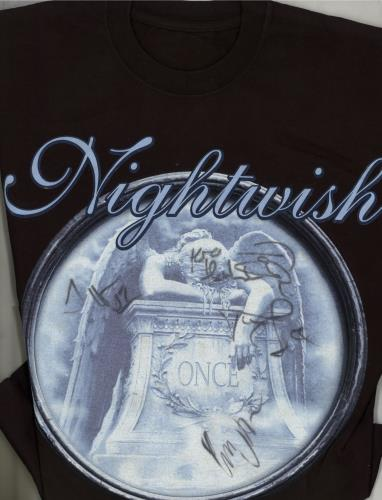 Nightwish+Once+-+Autographed+643746b