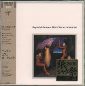 PENGUIN CAFE ORCHESTRA - Broadcasting From Home 2008 Japanese limited edition 12-track CD album released as part of the 'Virgin Charisma' series