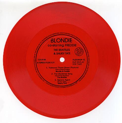 Blondie+Yuletown+Throw+Down+-+Red+288075