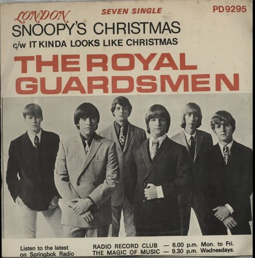 The+Royal+Guardsmen+Snoopys+Christmas+634523