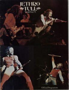 1978 Autographed tour programme