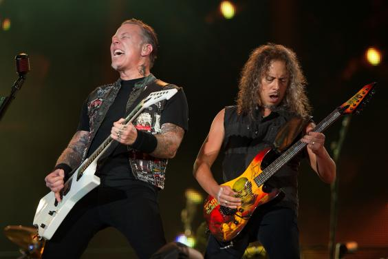 Metallica-iran