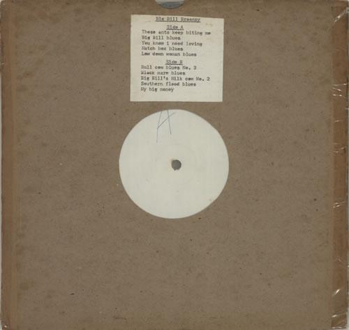 Big+Bill+Broonzy+Big+Bill+Broonzy+-+White+Label+630772