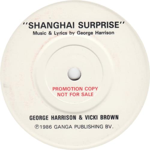 George+Harrison+Shanghai+Surprise+-+1-sided+67908