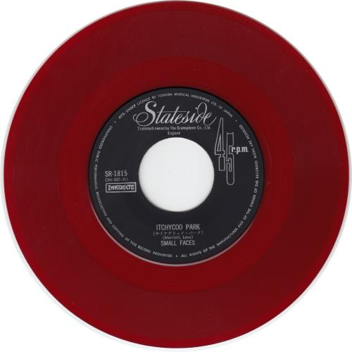 Small+Faces+Itchycoo+Park+-+Red+Vinyl+653611b