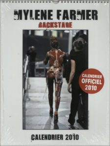 Backstage Calendrier 2010 - Official 2009 French exclusive issue 2010 year calendar (make your own fabulous collage!)