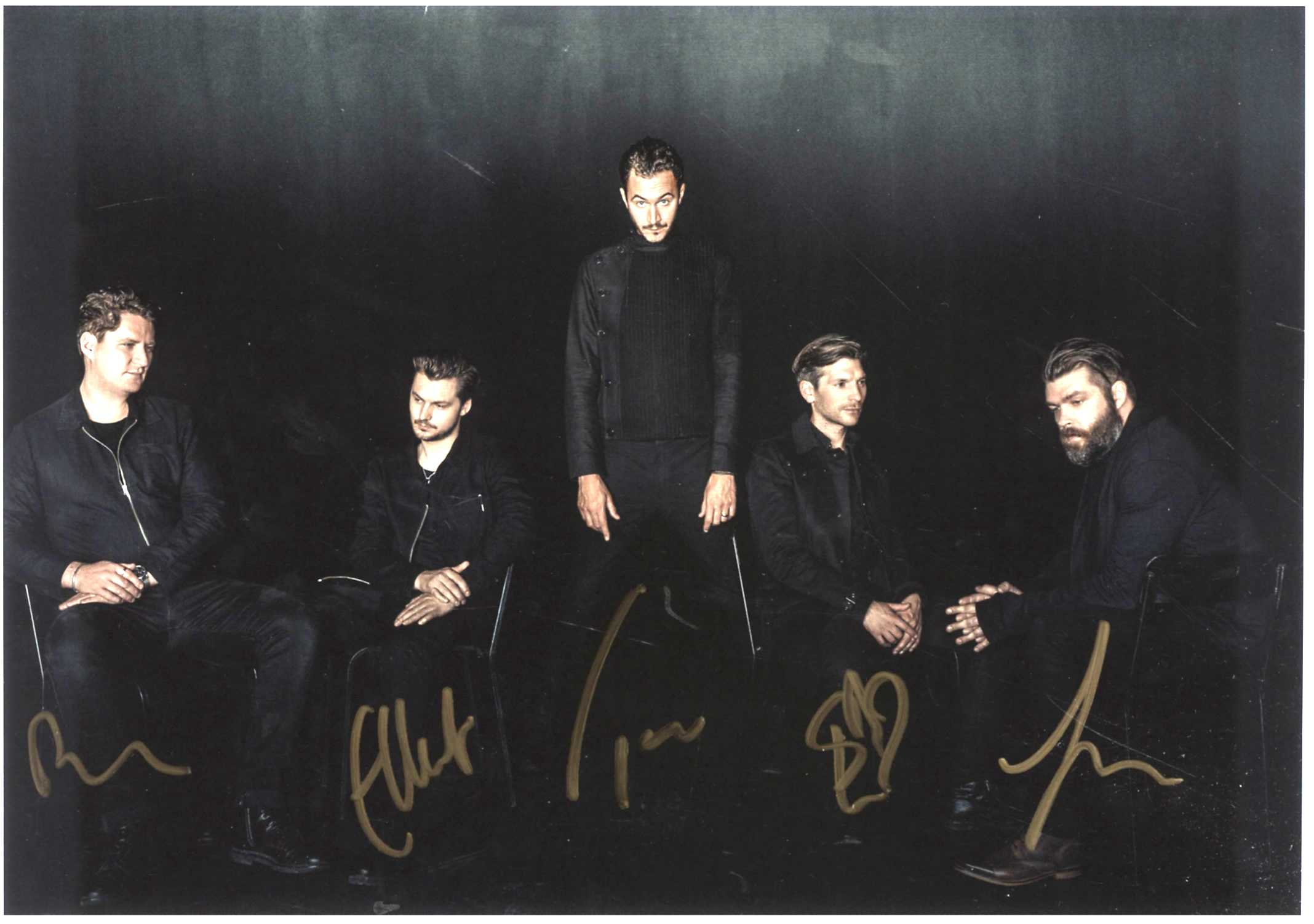Latest Autographed rarities, including Rival Sons, Editors, Ash