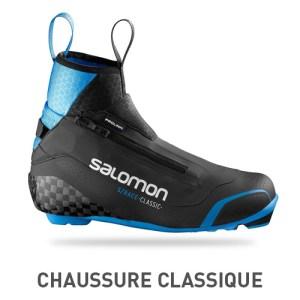 ski fond chaussure classique