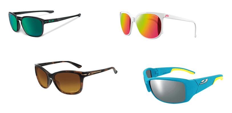 couleur lunettes de soleil verre