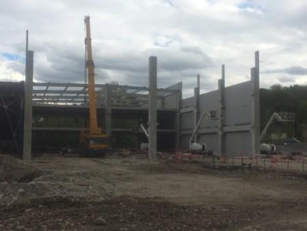 nouveau bâtiment Ekosport avril 2016