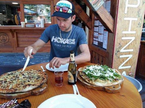 la pizza du lendemain nutrition en trail running