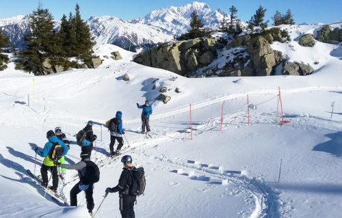 Grand Parcours Arêches beaufort ski de randonnée