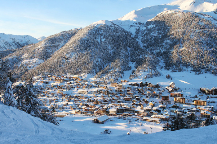 Skier à Montgenèvre