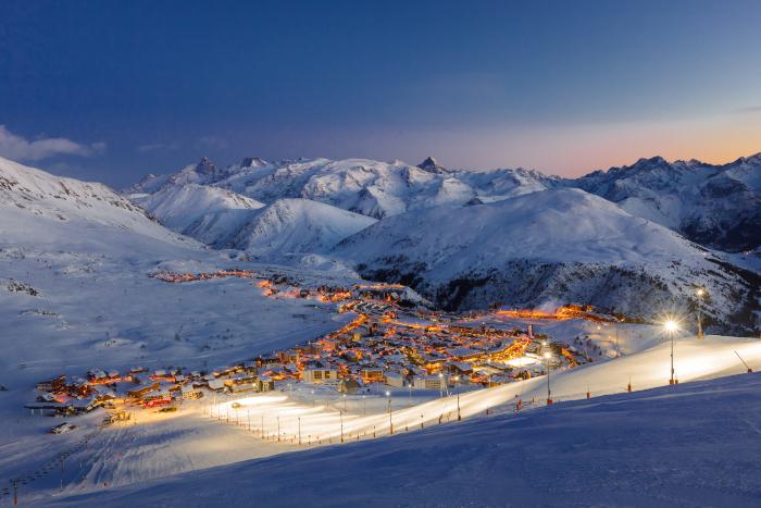 Skier à l' Alpe d'Huez
