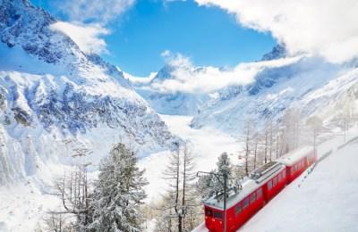 Skier à Chamonix