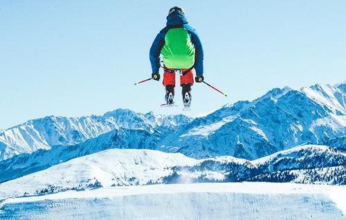 Tester équipement ski freestyle