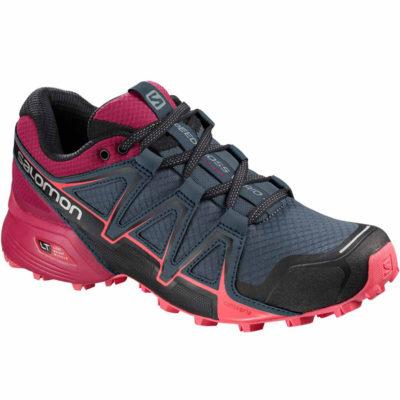 Chaussures de trail Salomon SPEEDCROSS VARIO 2 W STORMY WEATHERCERISE 2018
