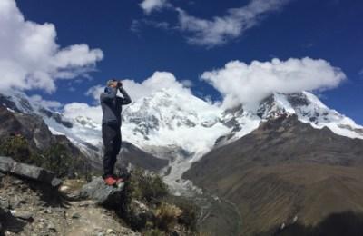 Repérage jumelle devant le Huascaran