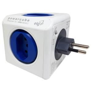 Powercube Original Elg 4 Tomadas e 2 Saída USB Bivolt