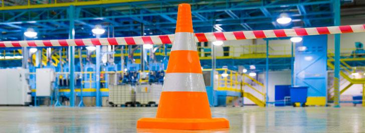 Como diferenciar cones de sinalização