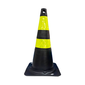 Cone Flexível Refletivo Plastcor 75CM