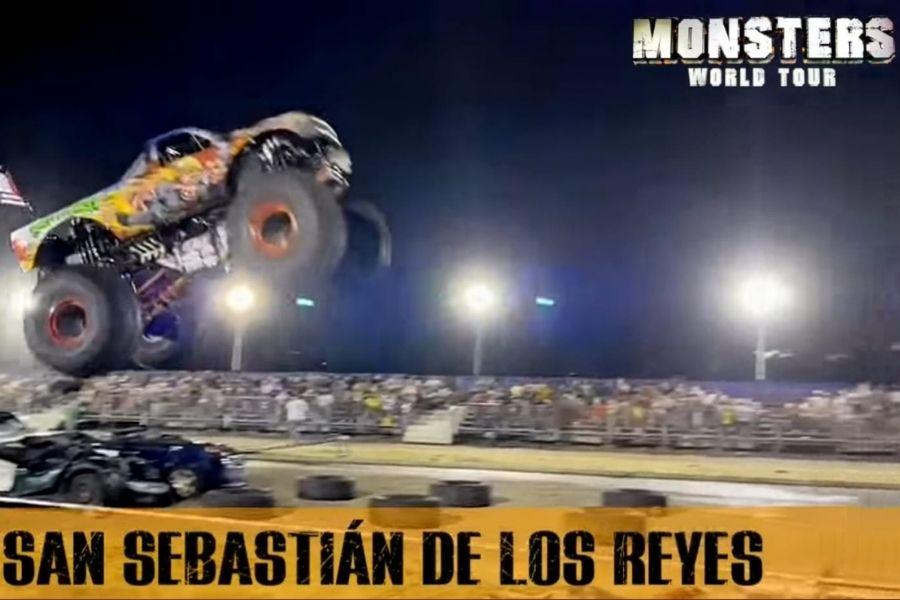 Sorteo MonsterWorldTour