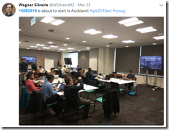 Auckland kicking of Global Integration Bootcamp 2018