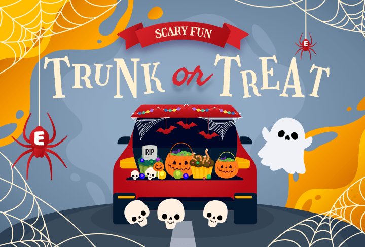 You're Invited to Our Trunk or Treat Event!