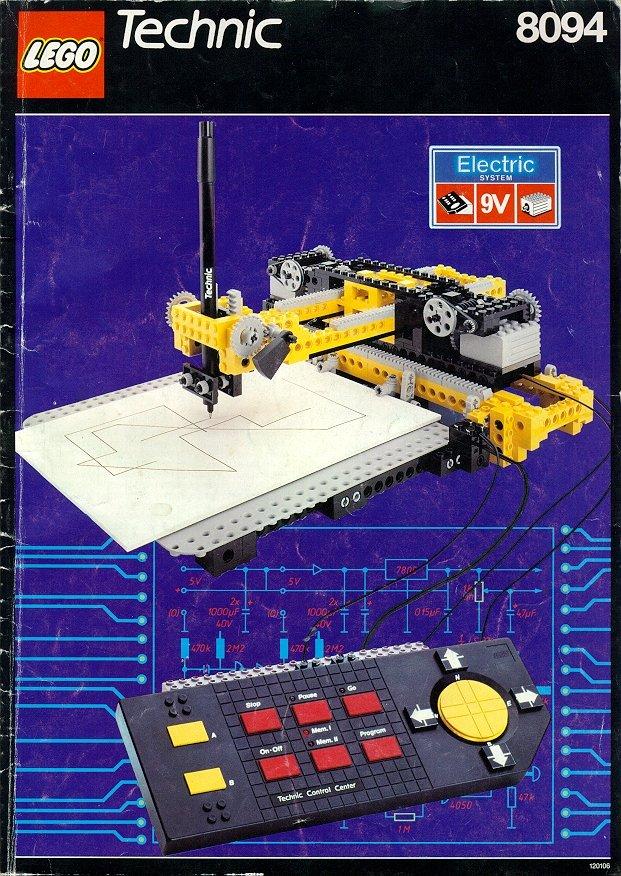 NXT retratista: LEGO 8094-1