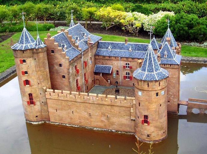Castillos LEGO: muiderslot aerial