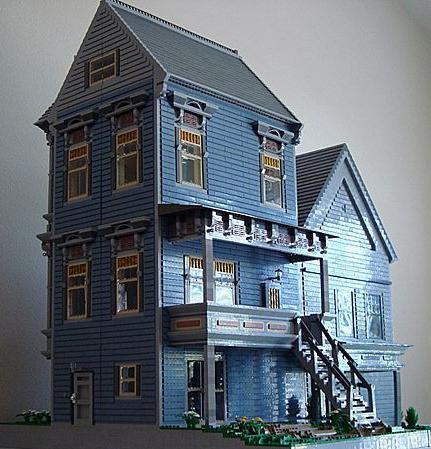 construccion victoriana con lego