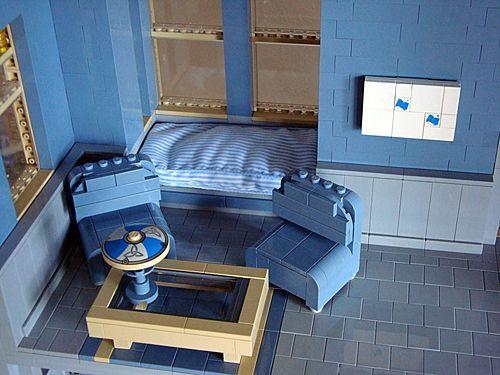 construccion victoriana con lego: salon
