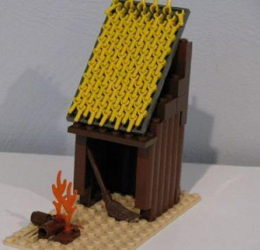 construye tejados con LEGO: indio