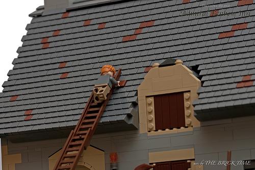 construye tejados con LEGO: Admiral Benbow Inn