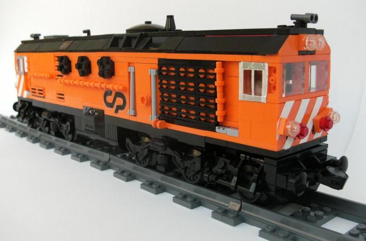 CP-1960 LEGO, por Sergio Batista