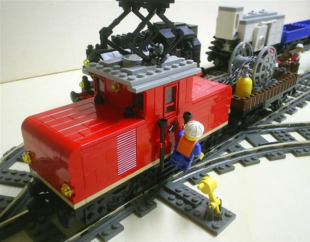 E69 05 de maniobras, por Brickniel
