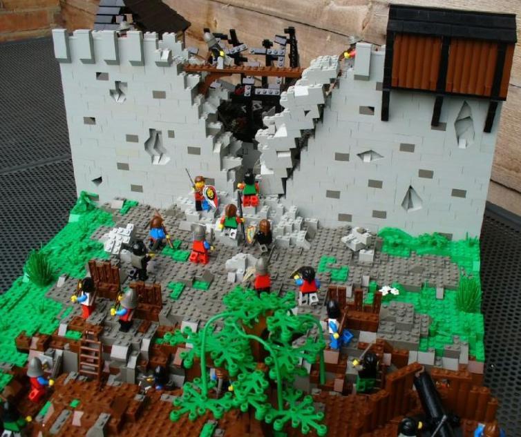 Asedio de Harfleur, por Edward C.