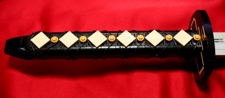 Chokuto, empuñadura