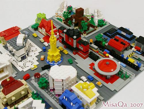 mini ciudad, por MisaQa