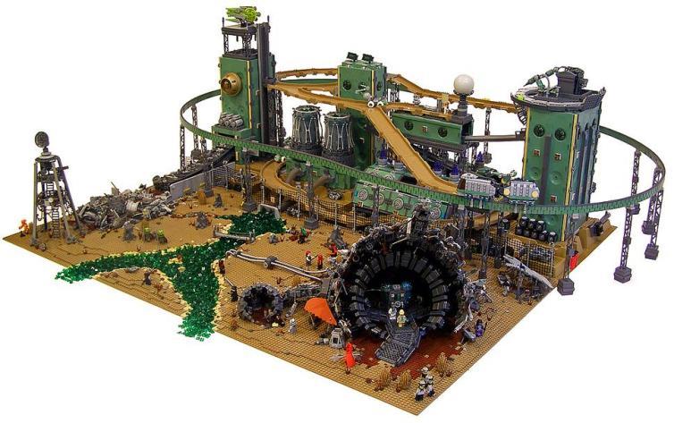 Containment, por Nannan_Z y Legohaulic