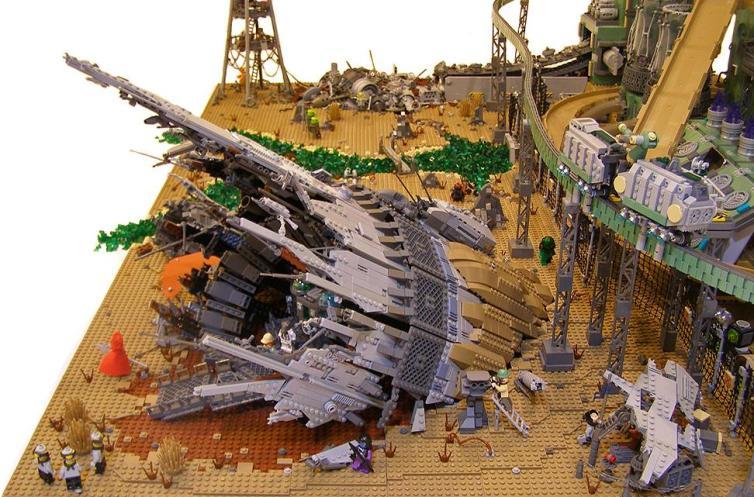 Containment, por Nannan Z y Legohaulic