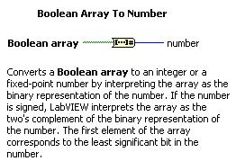 Función Boolean Array To Number