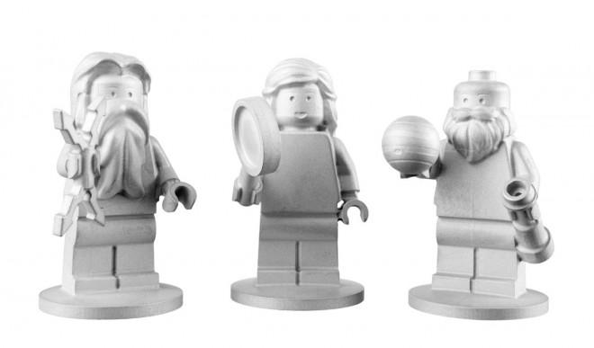 Minifigs en el espacio