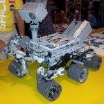 Rover curiosity de lego