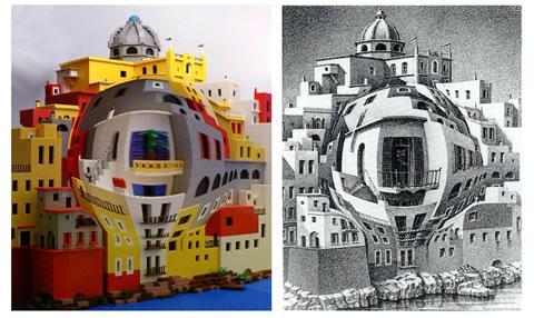 Escher LEGO