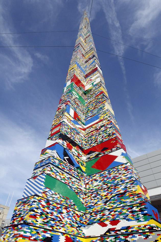 torre de lego
