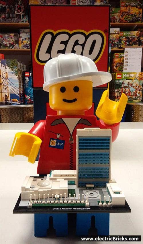 Arquitectura con LEGO: montamos la ONU en electricBricks