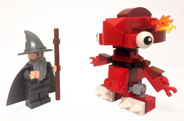Lego comparacion de tamaño